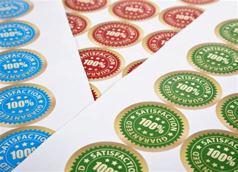 sticker printing paper uk stickers round or circular digital printing