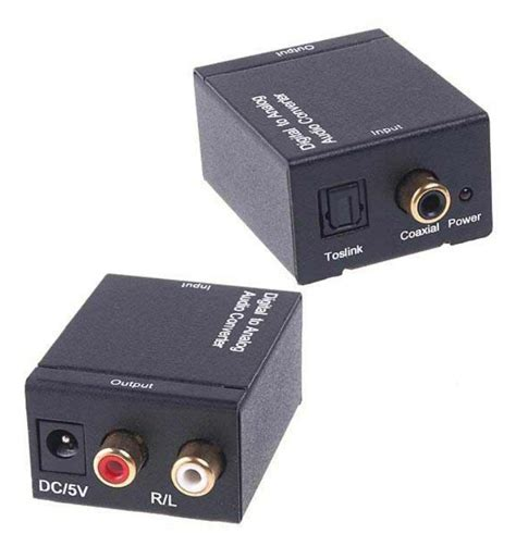 Kabel Optik Home Theater convertidor optico y coaxial a rca cable toslink 250 00 en mercado libre