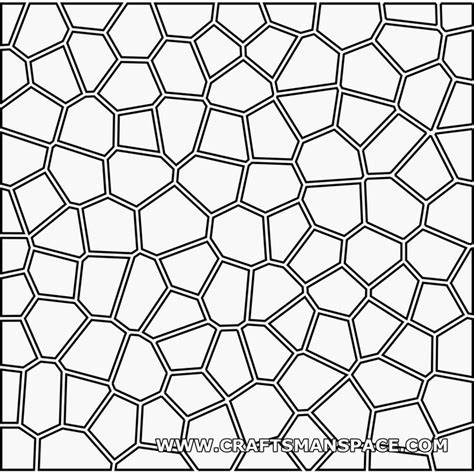html input pattern a z voronoi 2d pattern with offset crafts paper cutting