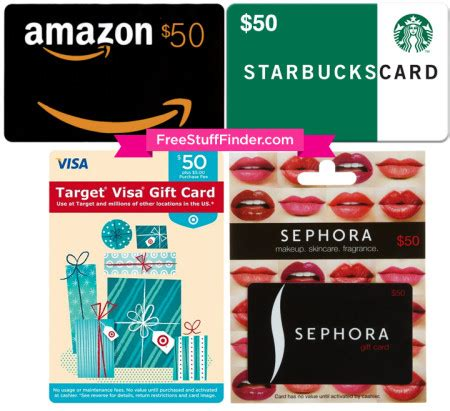 Sephora Gift Card Target - fsf giveaways archives free stuff finder