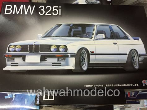 Fujimi Bmw 325i 124 fujimi 126104 1 24 rs 21 bmw325i wah wah model shop