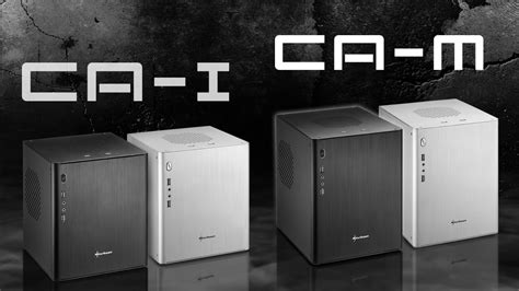 Livingroom Pc Sharkoon Ca I Ca M Mini Itx Matx Aluminium Pc Cases
