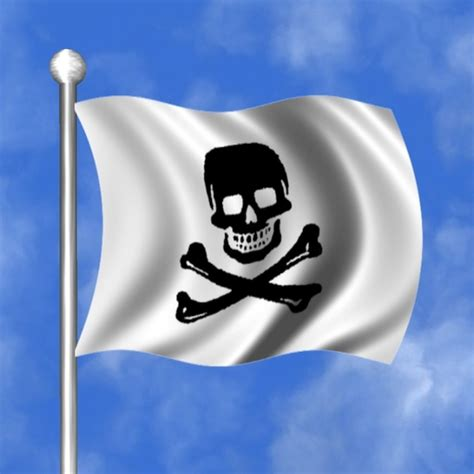 cool boat flags second life marketplace flag skull crossbones pirate