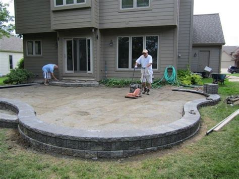 raised patio pavers 17 best ideas about pavers patio on backyard