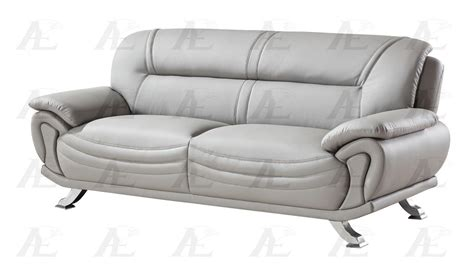 faux leather sofa and loveseat american eagle ae388 gr gray faux leather sofa and