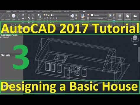 Tutorial Autocad 2017 | beginner tutorial 3 autocad 2017 designing a basic