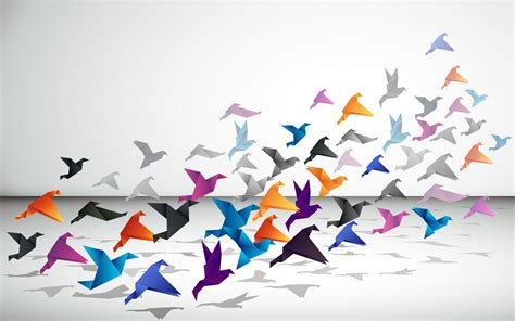 Origami Paintings - 106 origami hd wallpapers backgrounds wallpaper abyss