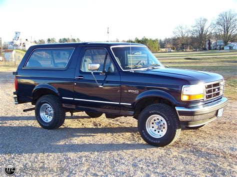 1993 ford bronco xlt for sale id 15871