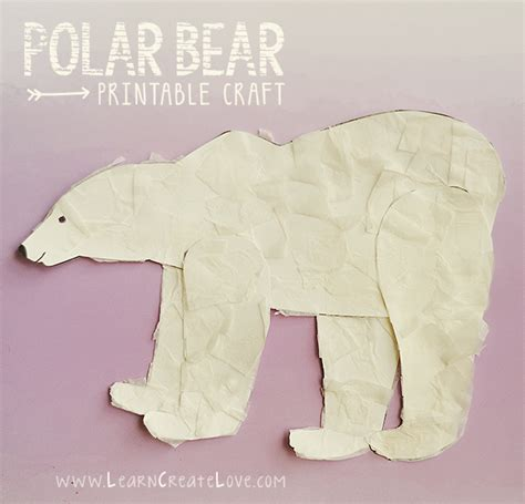 winter animal crafts for winter animal crafts