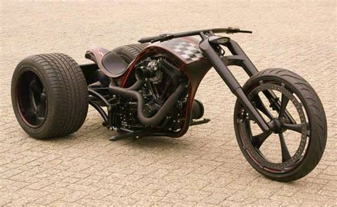 Motorrad Dreirad Oldtimer by Bozzies Custom Double Trouble Trike Custom Motorcycles