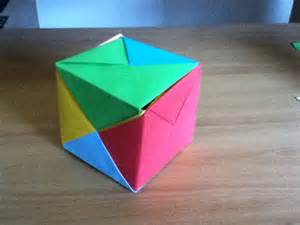 Origami Sonobe Cube - how to make a sonobe cube origamistudio