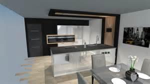 cuisine moderne laqu 233 e blanc brillant avec 238 lot