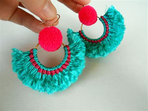 Pom Pom Statement Earring earrings to rock the holidays and new year
