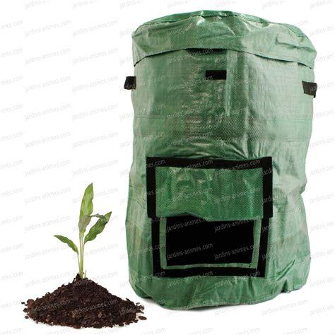 sac pour dechets de jardin sac composteur pliable 230l composteur de jardin