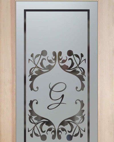 glass etching designs for kitchen toulouse monogram pantry door l sans soucie