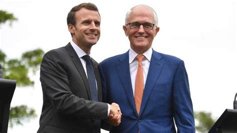 emmanuel macron delicious wife emmanuel macron thanks malcolm turnbull and his delicious