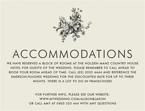 Wedding Wednesday How To Wedding Websites Bridal Reflections Hotel Accommodations For Wedding Guests Template