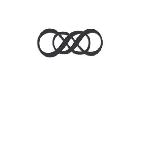 double infinity tattoo on wrist sweettats infinity wrist temporary pack 6