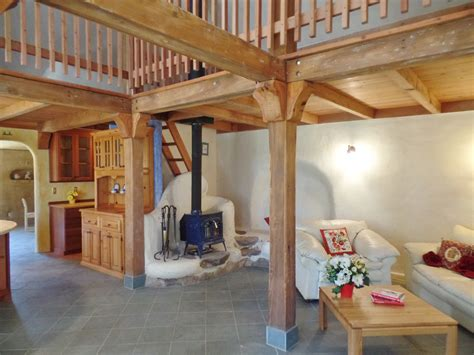 Cabin House by Beautiful Straw Bale House For Sale In California