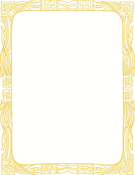 8 5 x 5 5 fancy card border polka dot templates fancy gold border clipart png clipartxtras