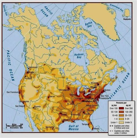 america map population density facts america facts 20 facts about america