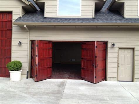 Bi Fold Garage Door Non Warping Patented Honeycomb Bifold Overhead Doors