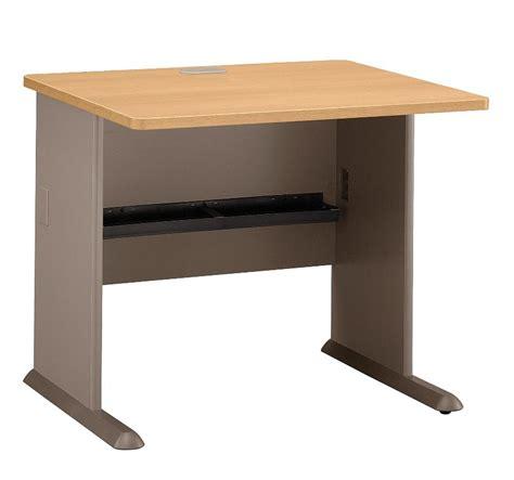 48 inch desk series a light oak 48 inch corner desk from bush wc64366