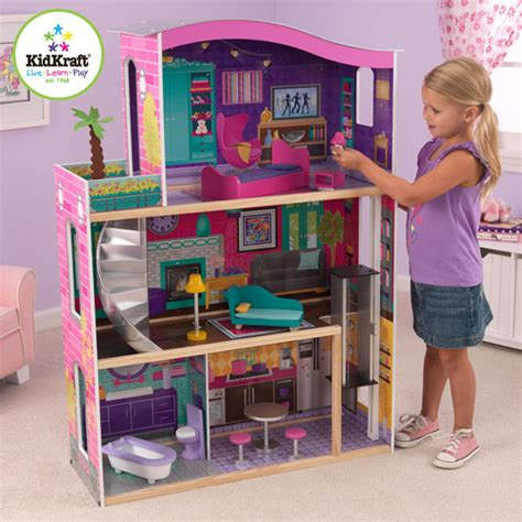walmart doll houses purchase kid kraft dollhouses city lights at walmart com save money