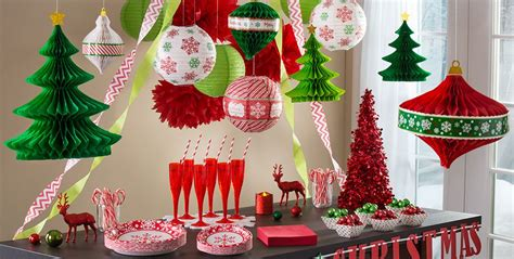 traditional paper christmas decorations hanging decorations garlands tinsel decorations city