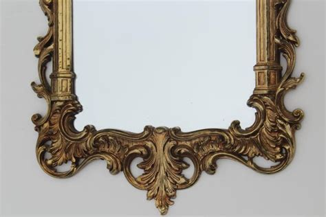 pretty french provincial theme farmers french provincial vintage syroco gold plastic wall mirror french country
