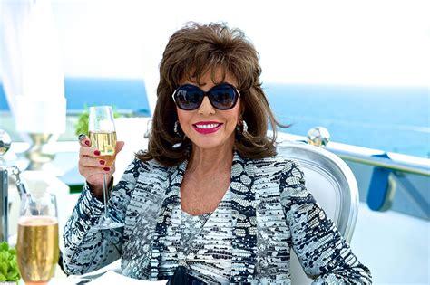 Joan Set joan collins set to cause as she returns to benidorm