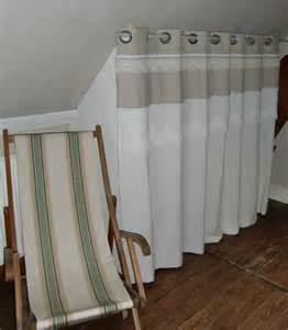 rideaux de placards blanche l a fait