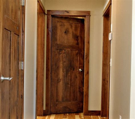 Rustic Interior Doors Rustic Interior Doors With 3 Flat Panel Design Home Doors Design Inspiration Doorsmagz