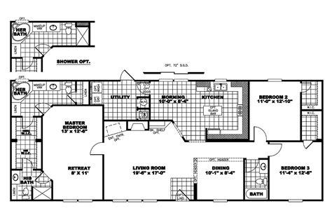 clayton floor plans manufactured home floor plan 2006 clayton cumberland