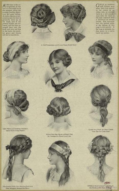 edwardian hairstyles history victorian women s hairstyles hairstyles for anatomy of