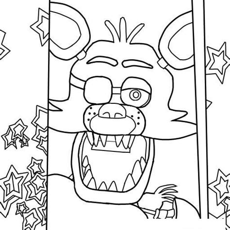 Fnaf 4 Coloring Pages by Fnaf Coloring Pages 4 Coloring Pages For