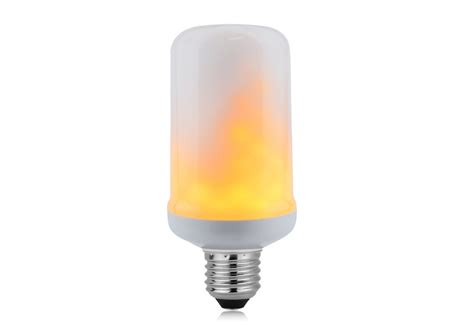 Led Light Bulbs Flickering Led Bulb With Flicker Effect Light Simulating Vintage Lighting
