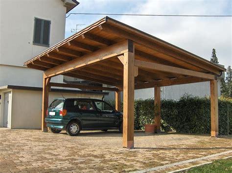 tettoie auto legno preventivo tettoia legno habitissimo