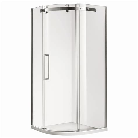 Shower Base Bunnings by Shower Screen Curved 1000x1000x2000mm Screen Base I N