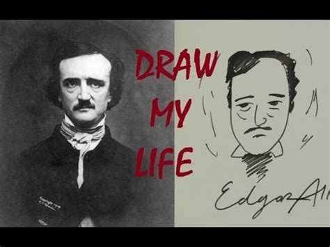 edgar allan poe biography video youtube socially awkward edgar allan poe draw my life ep 9