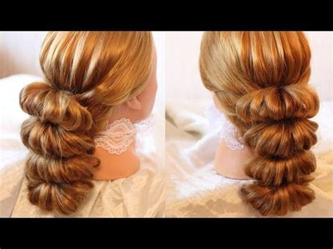 up dos with rubber bands youtube hairstyles and something new on pinterest