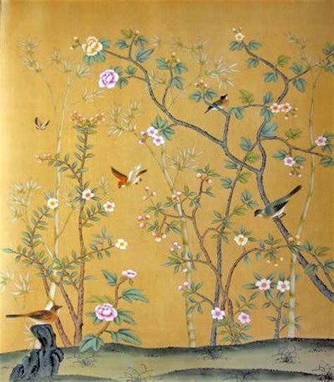 Painted Wallpaper Jones Design Company | chinese hand painted wallpaper chinoiserie 20 la