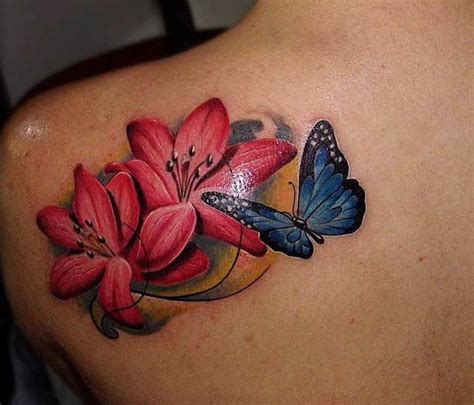 butterfly tattoo cherry blossom top 50 best cherry blossom tattoos ever inked tattooblend