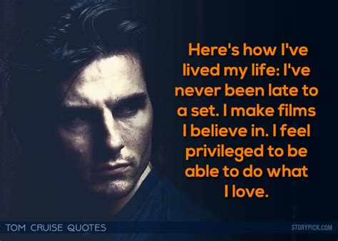 tom cruise film quotes 12 times tom cruise and his words proved that there is and