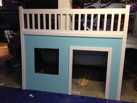 full size loft bed with storage ana white full size playhouse loft bed with storage