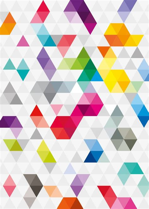 geometric triangle pattern design 11 best images about triangle patterns on pinterest more