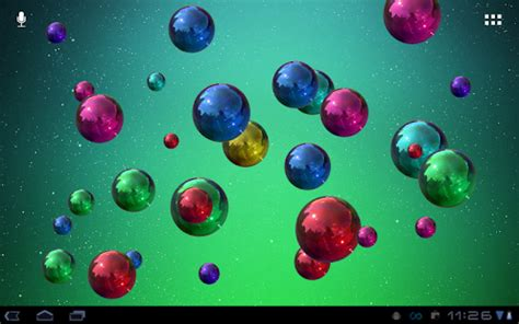 live bubble themes space bubbles live wallpaper android apps on google play