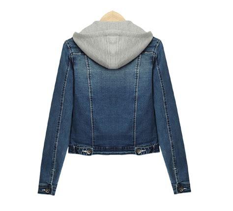 March Jkt Guess Jaket Denim Outerwear Casual Korean Style Murah Ori denim hoodie jacket women s jacket to