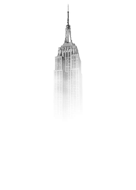 Empire State Building sketch photo – Free Black-and-white