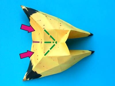 Origami Banana - banana origami do origami
